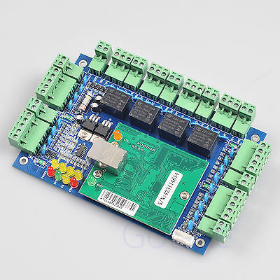 TCP/IP Network Entry Access Control Board Panel Web LAN For 4 Door RFID Reader
