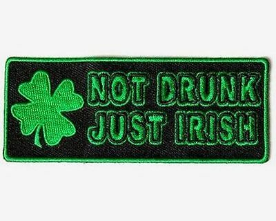 Made In The USA With IRISH Parts Ireland Motorcycle Biker Vest Patch PAT-3367