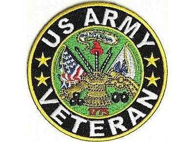 Veteran US ARMY Military VET POW USA New Motorcycle MC Biker Vest Patch PAT-3547