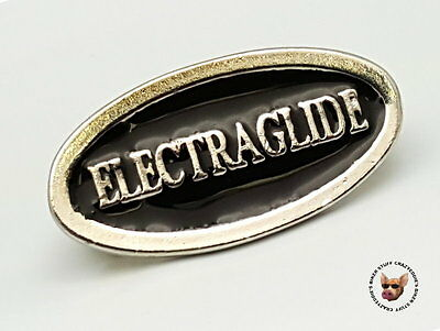 Electraglide Vest Pin  * Made In Usa * Motorcycle Biker Jacket Pin Electra Glide