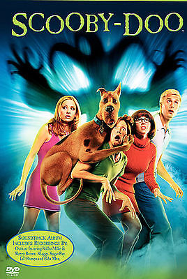 Scooby Doo - The Movie (DVD, 2002) Widescreen Edition