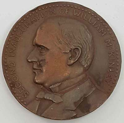 1901 William McKinley Scarce Official Inaugural Medal