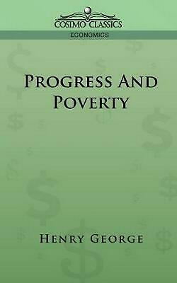 Progress and Poverty by Henry George (English) Paperback Book Free Shipping!