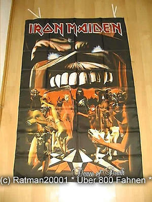 Fahnen Flagge Iron Maiden Dance of Death - 95 x 135 cm
