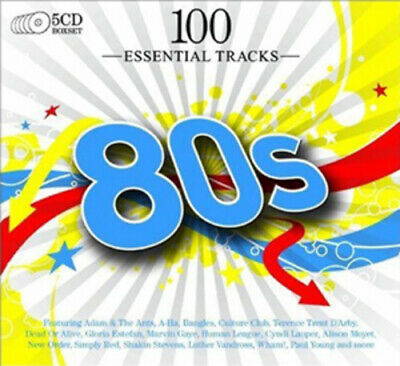 Various Artists : 100 Essential Hits of the 80s CD (2009)