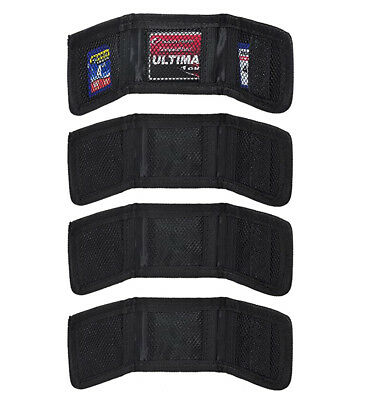 (4) Soft, Small & Foldable Poket Size Sd/sdhc Memory Card Holder