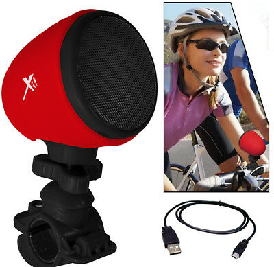 Bluetooth Bicycle Speaker with Microphone & Mount for Apple IPhone IPod MP3
