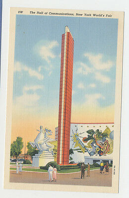 1939 New York World's Fair - 8W - The Hall of Communications