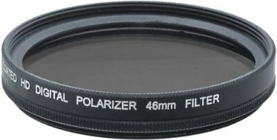 46mm HD Polarized Filter for DSLR Cameras/Camcorders