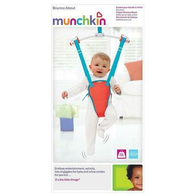 Munchkin Bounce About Doorway Baby Bouncer (Red)
