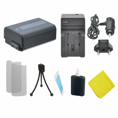 NP-FW50 Battery + Charger for Sony A5000 A5100 A7s A6000 A7 A7R NEX-5T A7II RX10