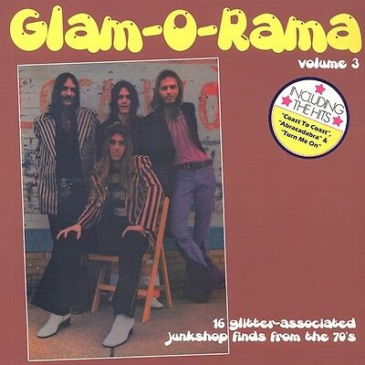 "Various ‎""GLAM-O-RAMA"" Volume 3 pub rock power-pop glam stompers LP Nick Lowe"