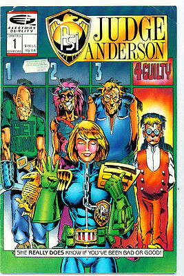 <•.•> PSI-JUDGE ANDERSON • Issue 1 • Quality Comics