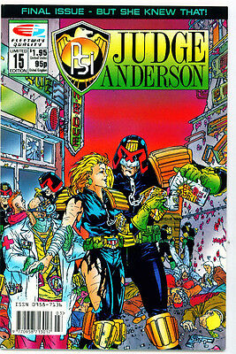 <•.•> PSI-JUDGE ANDERSON • Issue 15 • Quality Comics