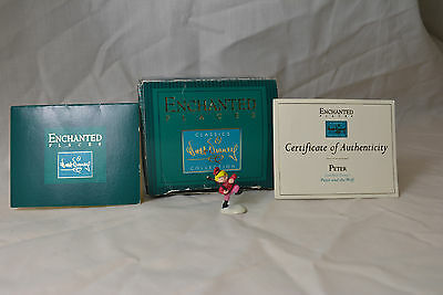 Peter and the Wolf Enchanted Places Miniatures Mini Disney Sculpture Figurine