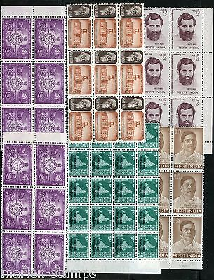 India Lot Of Mint Never Hinged Stamps As Shown
