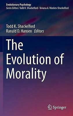 The Evolution of Morality by Hansen Ranald D. (English) Hardcover Book Free Ship