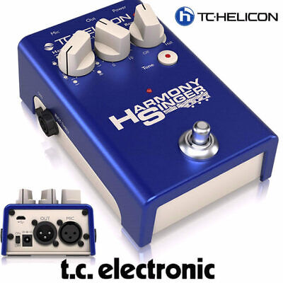 TC Helicon Electronic Voice Tone Harmony Singer vocal harmoniser with reverb