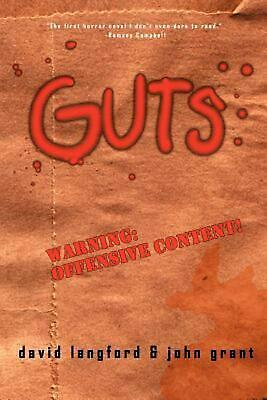 Guts: A Comedy of Manners by David Langford (English) Paperback Book Free Shippi