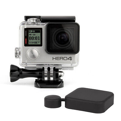 Premium Gopro HD Hero 3+ 4 UnderWater Waterproof Diving Housing Case  + Cap