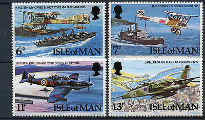 Isle Of Man 1978 SG#107-110 RAF Royal Air Force MNH Set #D3471