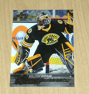 15-16 2015 Upper Deck hockey UD Young Guns rookie Malcolm Subban #211