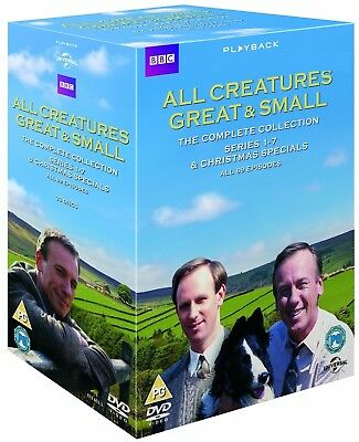 ALL CREATURES GREAT AND SMALL 1-7 1978-1990 COMPLETE TV Series - Reg2 DVD not US