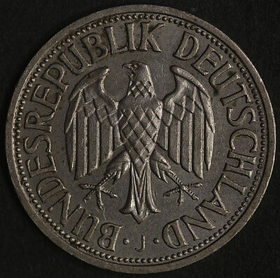 1958 - J Germany Federal 1 Mark KM 110 Great Deals From The TECC Bargain Bin