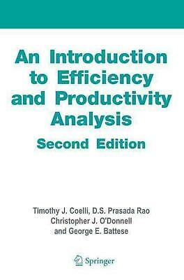 An Introduction to Efficiency and Productivity Analysis by Timothy J. Coelli (En