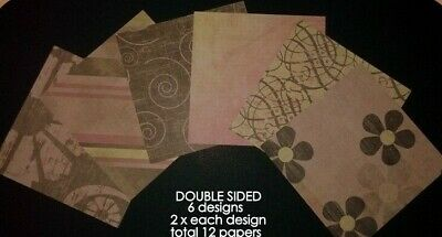 """DESIGN CLASSICS* Double-sided Scrapbooking/Cardmaking Papers-15cmx15cm (6""""x 6"""")"""