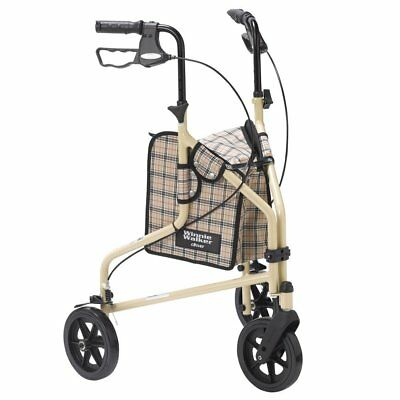 Winnie Lite Supreme Three Wheel Rollator Tan Paid 199 By Drive Medical New