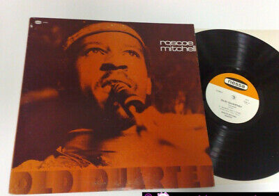 Roscoe Mitchell Old Quartet 1975 Nessa Records N°5 Us Lp
