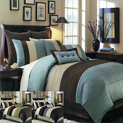 Hudson King size Luxury 12 piece Comforter and Sheet set by Royal Hotel