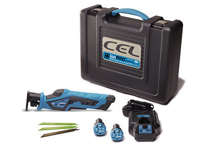 CEL IPR1-C +IonPRO Reciprocating Saw Pack 2 batteries & case