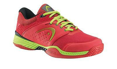 Head Chase Men's Tennis Shoes Sneakers Red/Yellow - Authorized Dealer - Reg $90