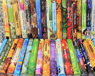 GR Premium Indian Incense Sticks: Pack of 20  BUY 3 GET 1 FREE! PICK YOUR SCENT!