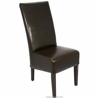 Beautiful Leather Dining Chair RV-014