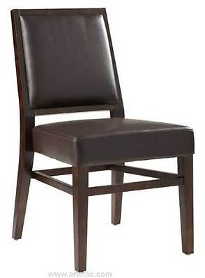 Brown Leather Dining Chair SR-19056