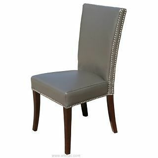 HighBack Leather Dining Chair RV-007