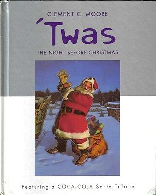 2001 Coca-Cola Santa Tribute Book - 'twas The Night Before Christmas (Hallmark