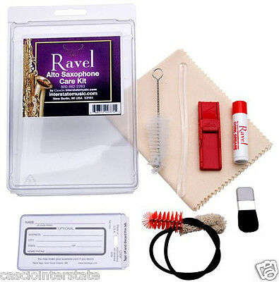 Ravel Alto Saxophone Cleaning Care Kit OP341
