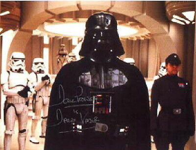 David Prowse as Star Wars Darth Vader Autographed Picture 8 x 10 Photo Card #1