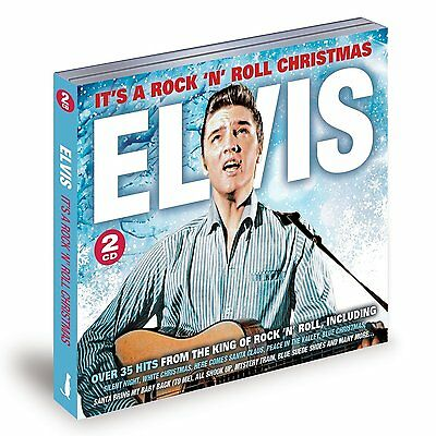 Elvis It's A Rock & Roll Christmas over 35 hits 2 CDS SANTA CLAUS BACK IN TOWN