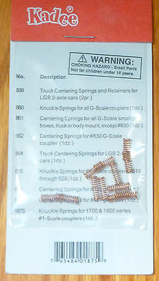 Kadee #1875 (1 Scale) Knuckle Springs -- For 1700 & 1800 Series #1 Scale Coupler
