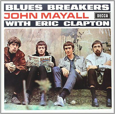 JOHN MAYALL WITH ERIC CLAPTON Bluesbreakers LP Vinyl BRAND NEW