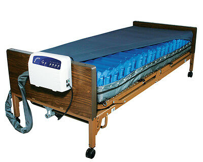 Drive Medical Med Aire Low Air Loss Mattress Replacement System w/Alarm 14029