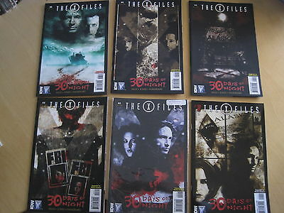 THE X FILES :30 DAYS of NIGHT.COMPLETE 6 ISSUE SERIES.MULDER,SCULLY.WILDSTORM