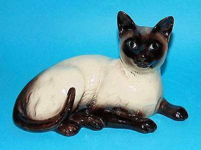 Beswick  ornament  figurine 'Siamese Cat'  1st Quality #1559  (6160)