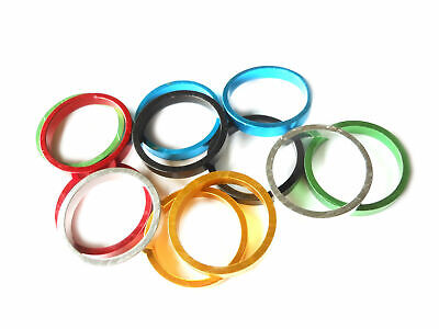 "Headset Spacer Set Budget 1-1/8"" x 5mm x 34mm Anodised (set of 4)"