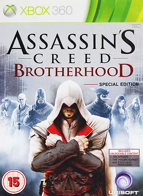 Xbox 360 : Assassins Creed Brotherhood Special Edit VideoGames Amazing Value